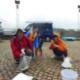 キャリアサポートクラブ ミツバチの会と合同海釣り体験